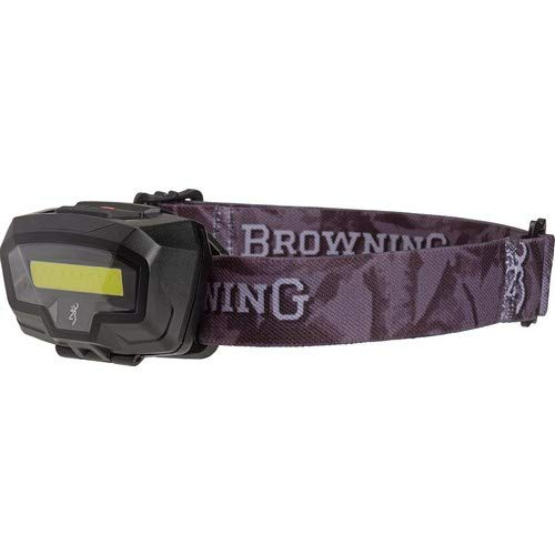 BROWNING Night Gig Headlamp Black - Flashlight Black Led Browning