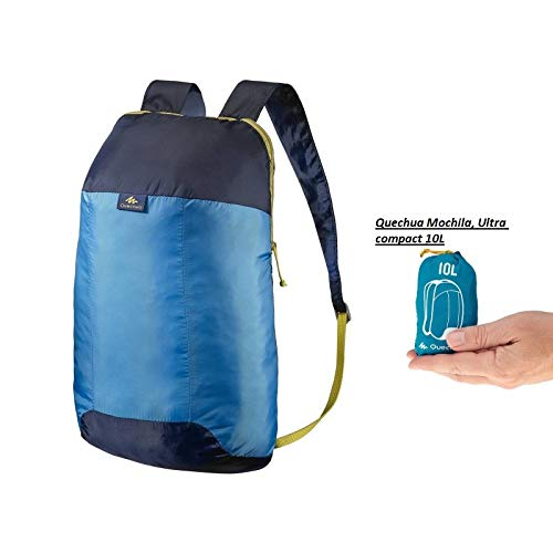 QUECHUA Ultra Compact Collapsible 10 Litre Small Hiking ...