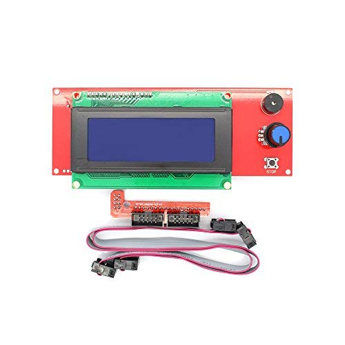 TRIGORILLA ANYCUBIC 2004 LCD Smart Display Controller Module with Adapter for RAMPS 1.4 Arduino Mega Pololu Shield 3D Printer Controller Kit Accessory