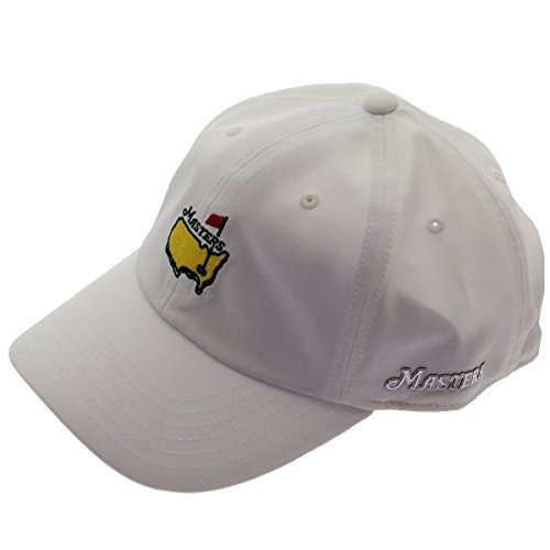 Masters 2018 Golf Hat Performance Tech White Adjustable Official Augusta National