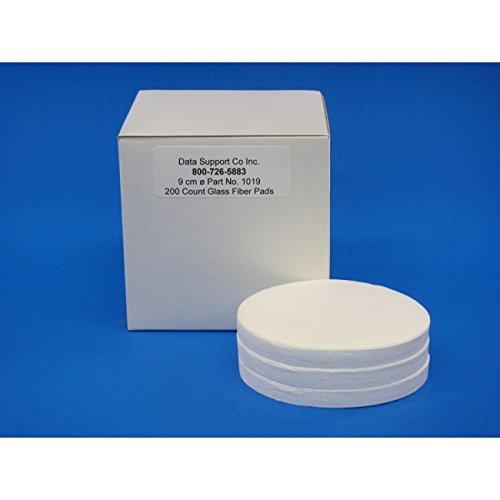 DSC DSC_1019-2 1019-2 Glass Fiber Sample Pads 9.0 cm, Glass Microfiber (Pack of 400)