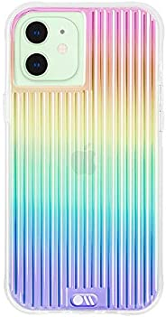 Case-Mate - Tough Groove - Case for iPhone 12 Mini (5G) - 10 ft Drop Protection - 5.4 Inch - Iridescent
