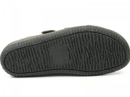 Rohde Schuhe Sandalen Pantoletten Leder Clogs Soltau 1984 Braun