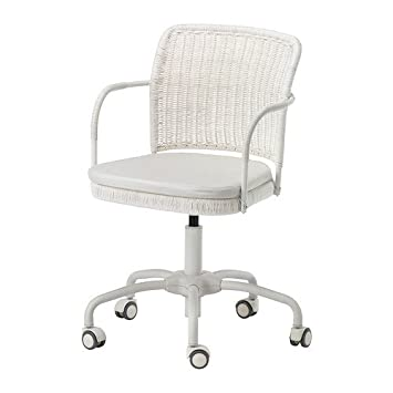 Ikea GREGOR   Swivel Chair, White Vittaryd, Blekinge White   300 M