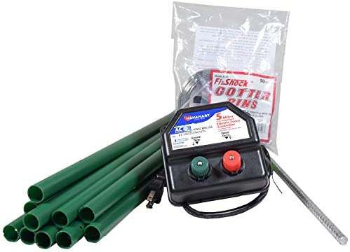 Havahart SS-750RPX AC-Powered Electric Fence Kit for Pets and Small Animals 1-Mile Range
