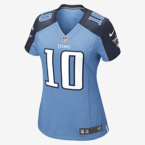 Nike Womens NFL Tennessee Titans Game Jersey #10 (Jake Locker)