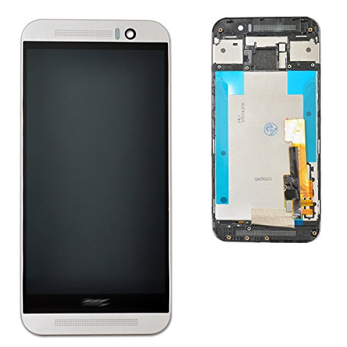 For HTC M9 LCD Replacement Touch Screen Digitizer & LCD Display Assembly (Silver + -
