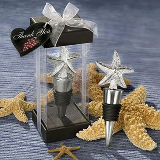 Wedding Starfish Design Stopper Favors