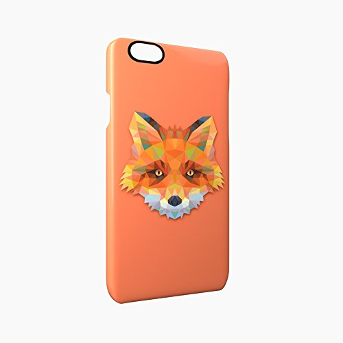 Fox Animal Art Of Triangles Glossy Hard Snap-On Protective iPhone 6 / 6S Case Cover