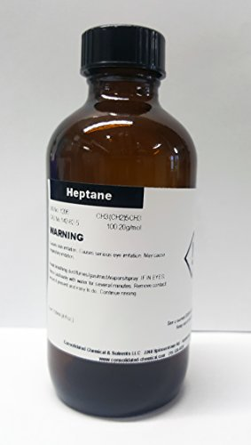 - N-heptane High Purity 120ml (4 fl oz) Bestine Thinner