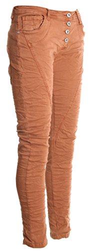 Basic.de - Pantalón - para mujer Zimt (Modell 2) S