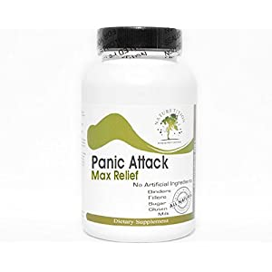 41sRJYyyqQL. SS300  - Panic Attack Max Relief ~ 90 Capsules - No Additives ~ Naturetition Supplements