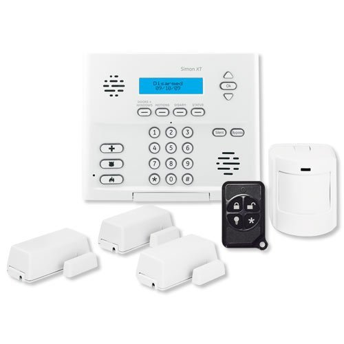 Interlogix Simon XT Home Security 3/1/1 Kit, Crystal Wireless (Wireless Crystal Touchpad)