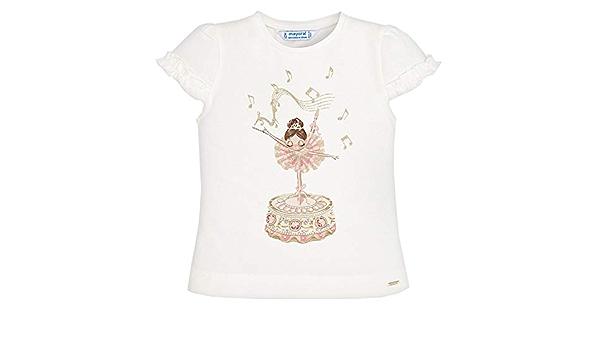 Mayoral Camiseta de verano para niña con volantes, bailarina ...