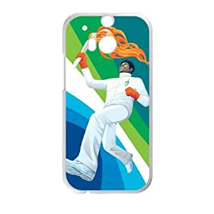 Sports 2010 olympic torch relay HTC One M8 Cell Phone Case White Custom Made pp7gy_3419555