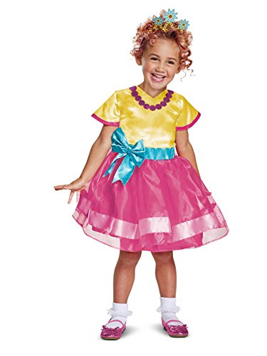 Disguise Nancy Classic Toddler Child Costume, Multi Color, Large/(4-6x) ()