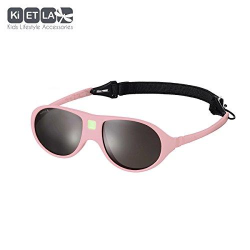 Ki ET LA – Sunglasses for kids Jokala style – 100% unbreakable – Light Pink – 2-4 years - France Sunglasses