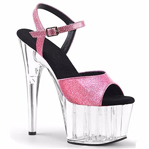 sandali sexy stile toe toe Lo d lady di alto sesso scarpe tacco banchetto moda party europeo YMFIE YqfOZf