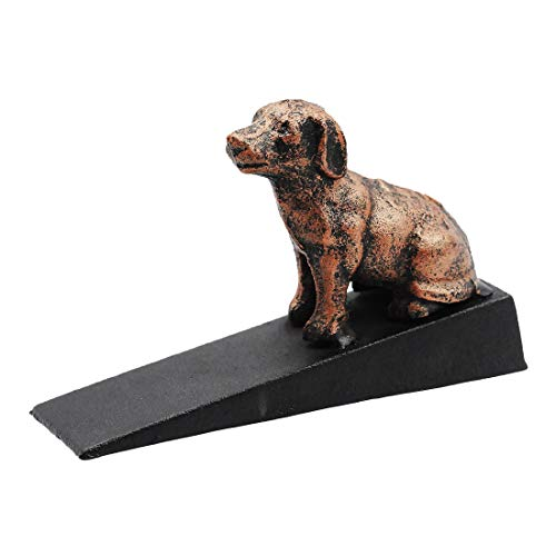 Enerhu Cast Iron Doorstops Door Stopper for Home/Office Cute Animal File for Doors by Enerhu