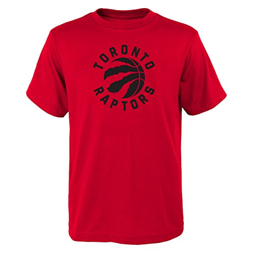 Outerstuff Youth Toronto Raptors NBA Primary Logo T Shirt Red S
