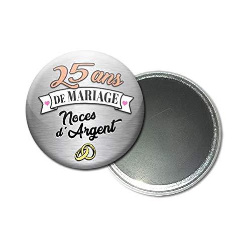 Magnet Aimant 56 Centimètres 25 Ans De Mariage Noces D