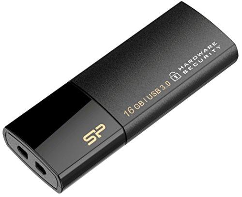 16 گیگابایت درایو رمزگذاری USB3.0 Silicon Power Secure G50 AES 256 بیتی