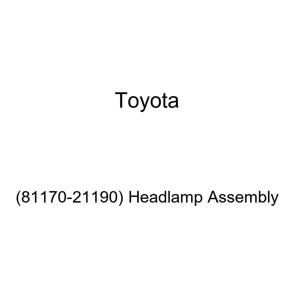 Genuine Toyota Headlamp Assembly 81170-21190
