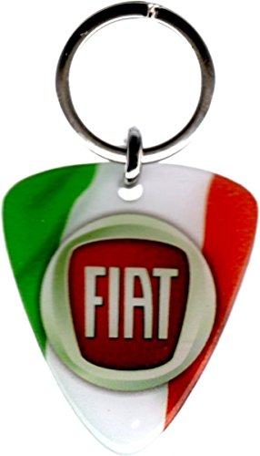 Mim Distribution llavero resinato Fiat Italia: Amazon.es ...