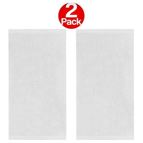 White Beach Towel - 4