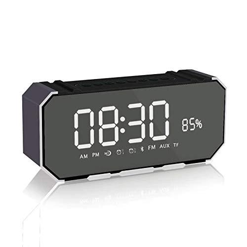xingganglengyin Bluetooth Speaker Card Alarm Clock with Display Bluetooth Desktop Audio subwoofer Explosion by xingganglengyin (Image #4)