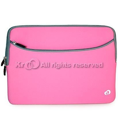 Amazing Accessory (TM) Laptop Tablet Carrying Sleeve (Pink) for Acer Aspire S7-392-9890 13.3-Inch Touchscreen Ultrabook + a min stylus pen
