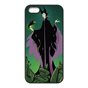Disney Cartoon Sleeping Beauty Maleficent Angelina Jolie iPhone 5 5S Rubber Protective Case