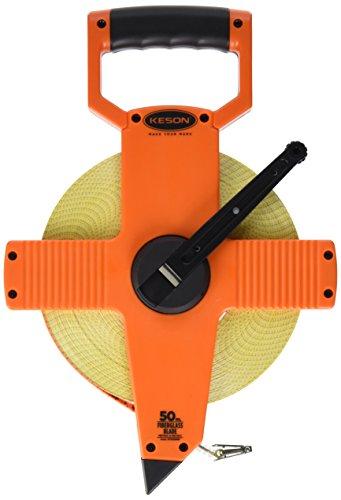 Keson OTR50MM Open Reel Fiberglass Tape Measure Reel (Graduations: 5mm & 2mm), 50-Meter