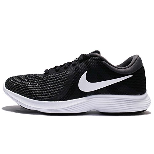 NIKE Womens Revolution 4 Running Shoe Black White Anthracite y5xqQdgw
