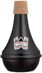 Denis wick Dw5526 practice Sordina de aluminio, color negro