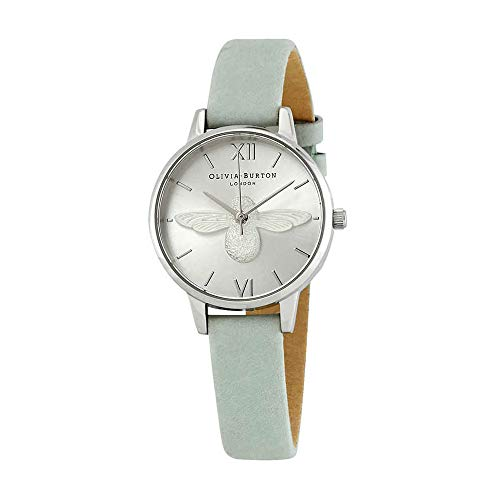 Olivia Burton 3D Bee Silver Dial Ladies Watch OB16AM149