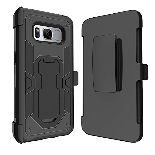 Case for Samsung Galaxy S8 Active SM-G892A [ NOT FOR REG S8] Rugged Cover for S8 ACTIVE, MINITURTLE Clip Armor Hybrid Holster + Kickstand Shell Case for S8 Active