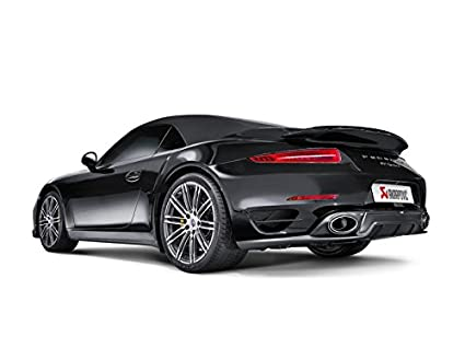 Akrapovic 14-15 Porsche 911 Turbo/Turbo S (991) Rear Carbon Fiber