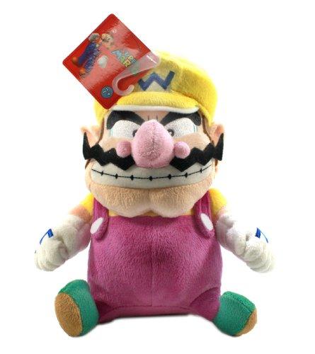 Little-Buddy-Super-Mario-Plush-Wario-9-Inch