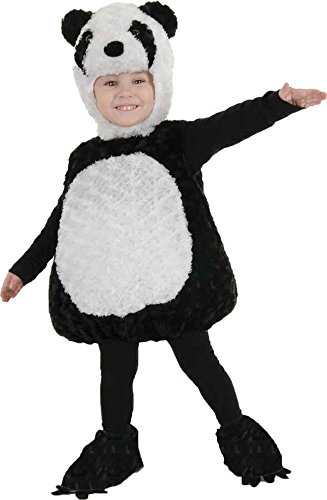 [UHC Panda Bear Outfit Toddler Kids Animal Theme Fancy Dress Halloween Costume, 18-24M] (Newborn Panda Bear Costume)