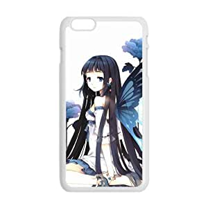 MeowStore Japanese Cartoon Accel World Butterfly Girl Sexy Kuroyuki Hime Iphone 6 Plus (5.5 inch) Case Cover Phone Case Shells