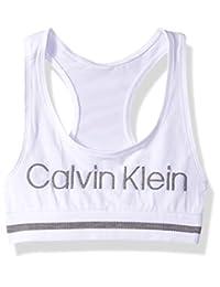 Calvin Klein - Brasier Deportivo sin Costuras para niña