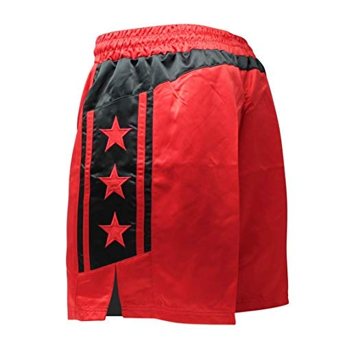- Anthem Athletics Ascension Wrestling Shorts - Red & Black - Small