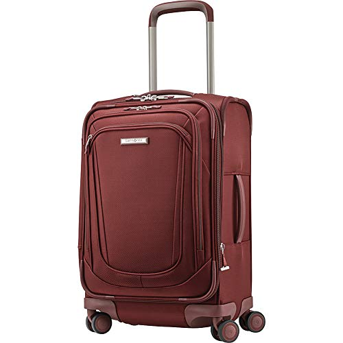 Samsonite Silhouette 16 Expandable Spinner Carry On (Cabernet Red)
