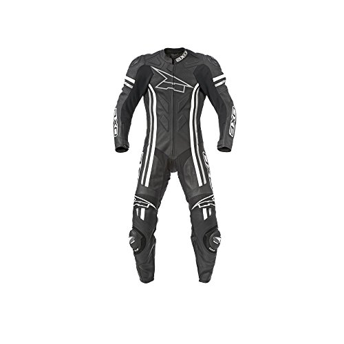 AXO Indy Men's Leather Suit (Black, Size EU 56/Size US 46)