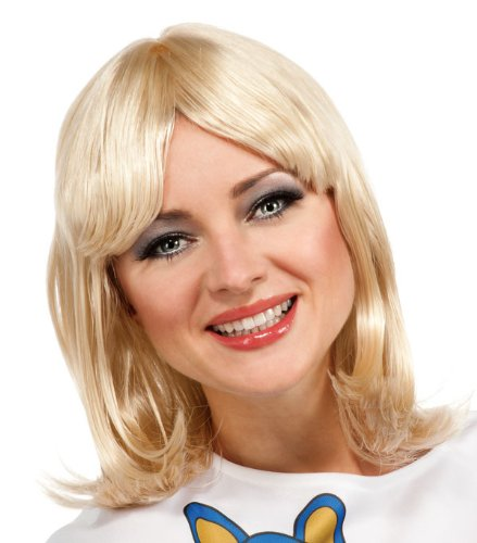 [Rubie's Costume Abba Agnetha Wig, Blonde, One Size] (Abba Costumes Ladies)