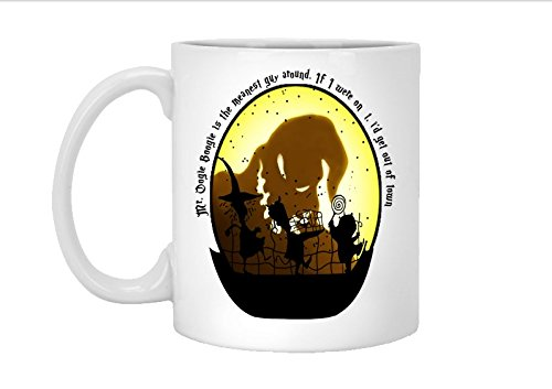 Nightmare Before Christmas Inspired: Oogie Boogie & Lock, Shock, and Barrel 11oz Coffee Mug, 15oz, coffee mug, tea cup]()