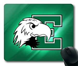 Eastern Michigan Eagles Logo Rectangle Mouse Pad by eeMuse