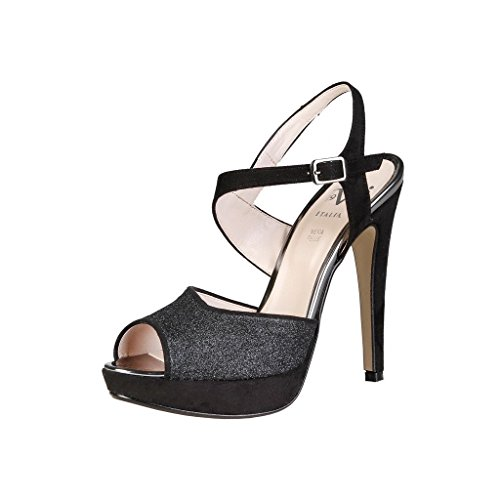 V&A Enterprises V 1969 - CALIXTE Women's Sandal Black SJqdhdjYX0