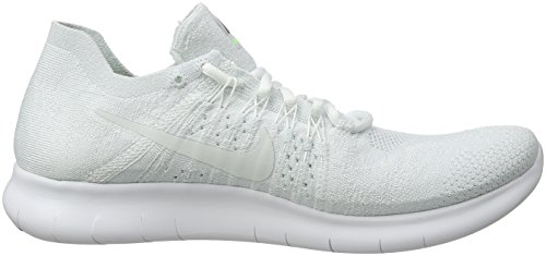 Flyknit RN 2017 White Shoe Free Men's Nike Pure Platinum Running wtf6E